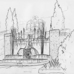 25 Fontana di Neptuno in Villa Deste