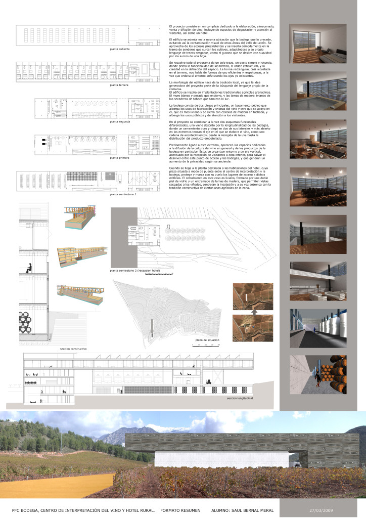 Proyecto Bodega Señorío de Nevada