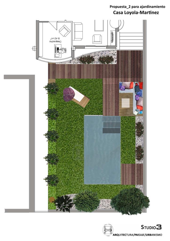 Propuesta para ajardinamiento_Casa Loyola_Martinez